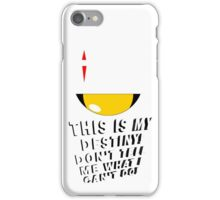 """Don't tell me what i can't do! - Locke """"LOST""""  iPhone Case/Skin"""