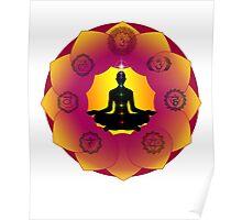 Yoga Lotus Poster