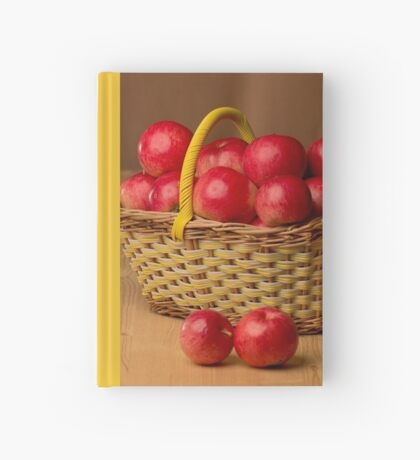 Red Apples Hardcover Journal