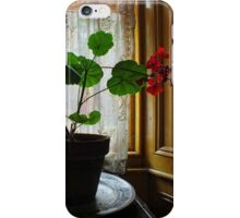 Still Life with Geraniums III iPhone Case/Skin