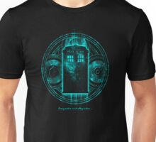 Blue Box Police Call in Space Unisex T-Shirt