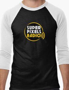 Super Pixels Radio Men's Baseball ¾ T-Shirt