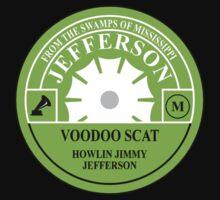 Voodoo Scat, Howling Jimmy Jefferson One Piece - Short Sleeve