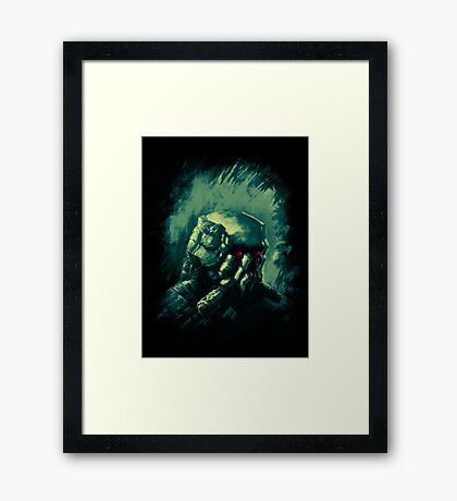 Breath with Me Framed Print