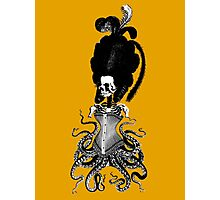 Octopus Skeleton Woman Photographic Print