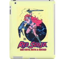 Red Sonja iPad Case/Skin