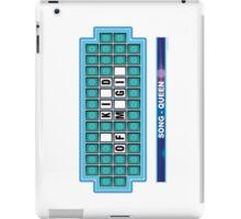 QUEEN - song (Wheel of Fortune).  Canción de QUEEN (Ruleta de la Fortuna) iPad Case/Skin