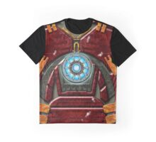 Ork Buster Iron Age Man Armour Graphic T-Shirt