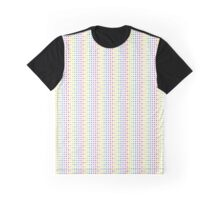 color skulls pattern Graphic T-Shirt