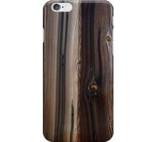 Weathered Old Wood Wall Texture iPhone Case/Skin