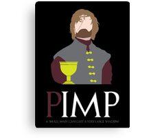 IMP the PIMP Canvas Print