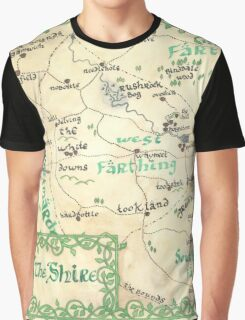 The Shire - hand-painted design Graphic T-Shirt