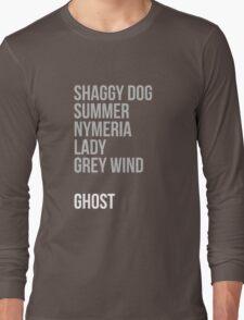 Direwolves Long Sleeve T-Shirt