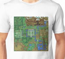 The map of 1991 Unisex T-Shirt