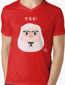 Colonel Daruma Mens V-Neck T-Shirt