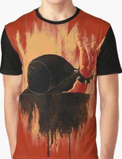 Rock Hard Snail Graphic T-Shirt