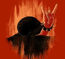 Rock Hard Snail by angrymonk