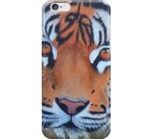Prowling tiger (12) iPhone Case/Skin