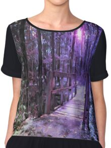 A Walk in the Woods Chiffon Top