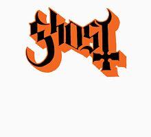 Ghost (Ghost BC) Black/Orange HD Logo Unisex T-Shirt