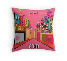 exid street cover Throw Pillow