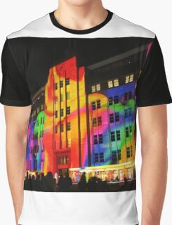 Colourful Museum Graphic T-Shirt