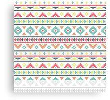 Aztec Pattern Canvas Print