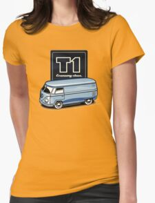 T1 Bus - Economy Class Womens Fitted T-Shirt
