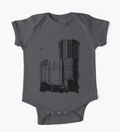 Skyscraper Under Construction One Piece - Short Sleeve