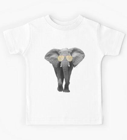 Sunny Elephant Kids Tee