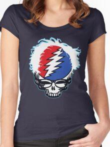 Bernie Grateful 2016 Women's Fitted Scoop T-Shirt