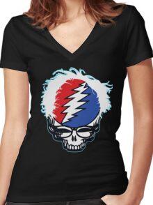 Bernie Grateful 2016 Women's Fitted V-Neck T-Shirt