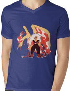 JaspTRES Mens V-Neck T-Shirt