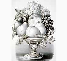 Fruit vase - 1870 - Currier & Ives Unisex T-Shirt