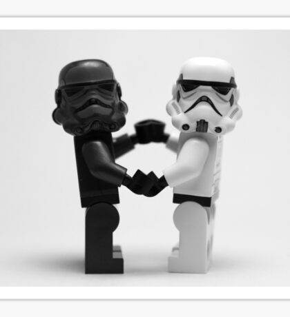 Lego Star Wars Stormtroopers Love Minifigure Sticker