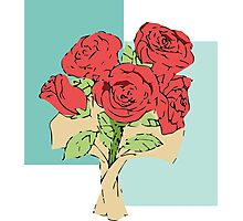 Your bouquet of roses Photographic Print