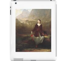 The Spanish Girl in Reverie , Washington Allston iPad Case/Skin