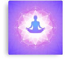 Buddha Yoga Zen Canvas Print