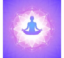 Buddha Yoga Zen Photographic Print