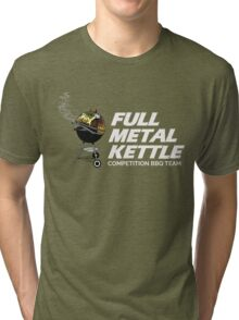 Full Metal Kettle BBQ Tri-blend T-Shirt