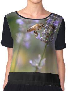 Honey Bee Chiffon Top