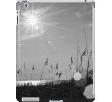 monochrome sunrise iPad Case/Skin