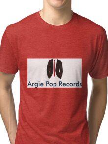 Argie Pop Records - Logo Tri-blend T-Shirt