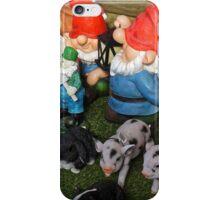 Gnome Farm iPhone Case/Skin