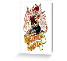 Straight to Hell Greeting Card