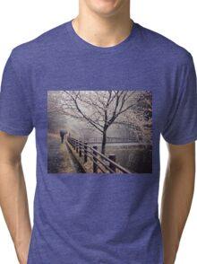 Strolling in the Rain Tri-blend T-Shirt