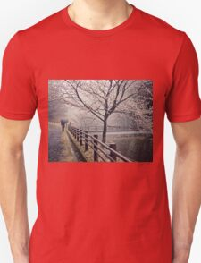 Strolling in the Rain Unisex T-Shirt