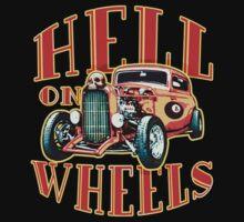 Hell on Wheels Kids Tee