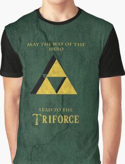 Triforce Lives Graphic T-Shirt