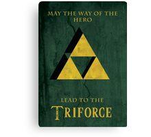 Triforce Lives Canvas Print